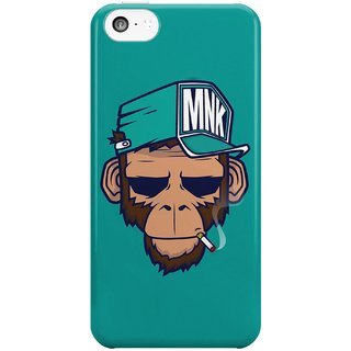 The Fappy Store Monkey Swag Hard Plastic Back Case Cover For Apple Iphone 5C Tfpj81224 -236