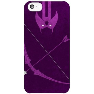 The Fappy Store Hawkeye Hard Plastic Back Case Cover For Apple Iphone 5C Tfpj81370 -382