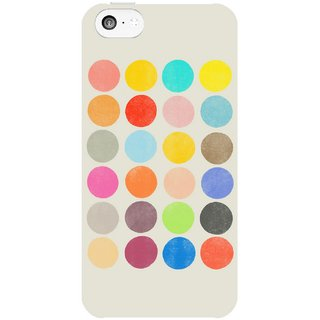 The Fappy Store Colorplay-1 Hard Plastic Back Case Cover For Apple Iphone 5C Tfpj81254 -266