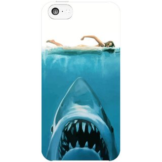 The Fappy Store Shark Hard Plastic Back Case Cover For Apple Iphone 5C Tfpj81390 -401