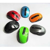 Wholesale-New Discount Cheapest 2.4G Wireless Mouse For Laptops Desktop Mouse Co