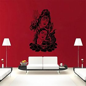 Decor Kafe Lord Shiva Wall Sticker (21x32 Inch)