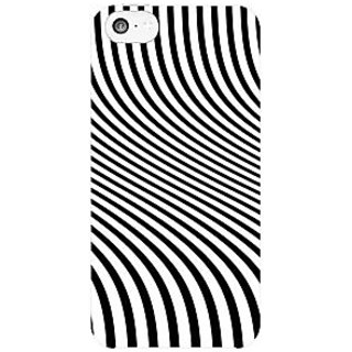 The Fappy Stor Zebra Stripes Hard Plastic Back Case Cover For Apple Iphone 5C Tfpj81412 -423