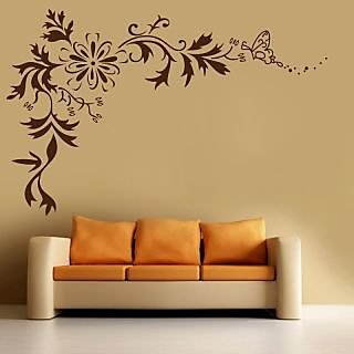 Decor Kafe Swirbl Wablbl Sticker 46x30 Inch)
