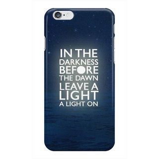 The Fappy Store In The Darkness Hard Plastic Back Case Cover For Apple Iphone 6 Tfpj80357 -440