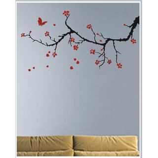 Decor Kafe Decal Style Branch Wall Sticker 40x20 Inch)