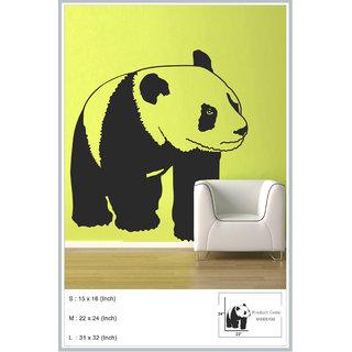 Decor Kafe Decal Style Panda Wall Sticker 31x32 Inch)