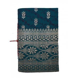 Handmade Sari Bahi (size 15.2x8.6cm) Mini Journal Hand Sewn