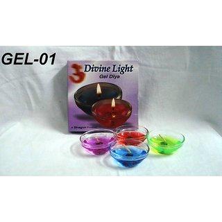Divine Light Gel 4 Candles Pack