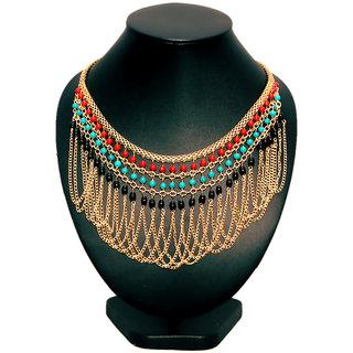 Fashion Jewelry Necklace Statement Bib Choker Artificial Imitation Jewelnation