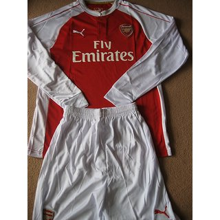 a87a4867 Buy Arsenal Football Home Kit Full Sleeves With Shorts Online ...