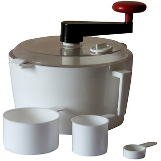 CLICKFLIP Kitchen White Dough Maker Machine