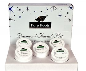 Pure Roots Diamond Facial Kit -300 gm