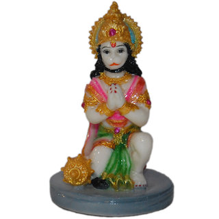 Madg Lord Shree Bajrangbali Hanuman  Showpiece