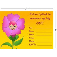 Birthday Invitation Card On Metallic Sheet (Pack Of 50 Cards) BPC-015