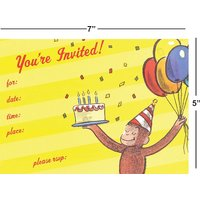 Birthday Invitation Card On Metallic Sheet (Pack Of 50 Cards) BPC-016