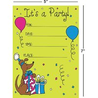 Birthday Invitation Card On Metallic Sheet (Pack Of 50 Cards) BPC-014