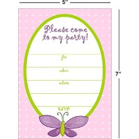 Birthday Invitation Card On Metallic Sheet (Pack Of 50 Cards) BPC-011