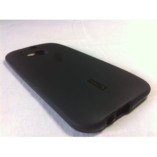 Cherry Premium Black Soft Jelly Silicone Back Cover Case For Htc One M8 M-8 M 8