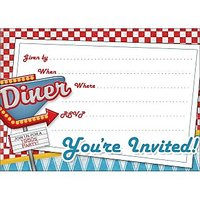 Birthday Invitation Card On Metallic Sheet (Pack Of 50 Cards) BPC-009