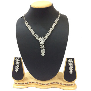 Fashion Jewellery Austrian Diamond Necklace Set for Women by Shriya