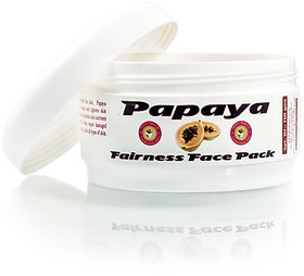 Herbal Skin Brightening Papaya Face Pack