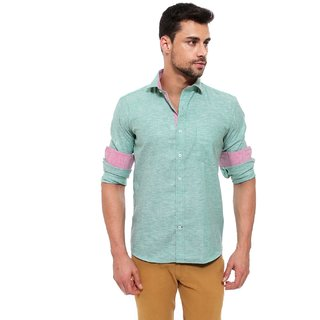 Jermyn Crest- Oxford Premium Linen Casual Shirt