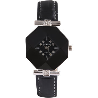 Jyoti Kalakriti Alluring Black Analog Watch