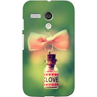 G.Store Hard Back Case Cover For Motorola Moto G - G3461
