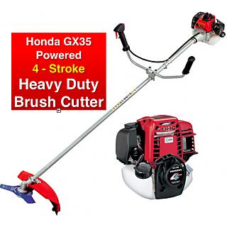 Honda GX35 Brush Cutter Four Stroke Petrol Operated Honda Japan