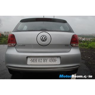 LOGO VW MONOGRAM EMBLEM REAR Volswagen Volkswagen  POLO car BADGE