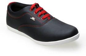 Catbird Men's Black Lace-Up Casual Shoes
