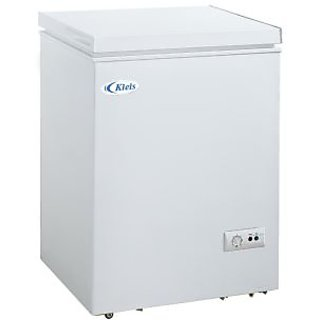 kieis bd 100 hard top deep freezer 100 ltr white