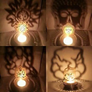 Tealight Candle Home Decor Diwali Gift Decoration for your Home Temple - GANESHA