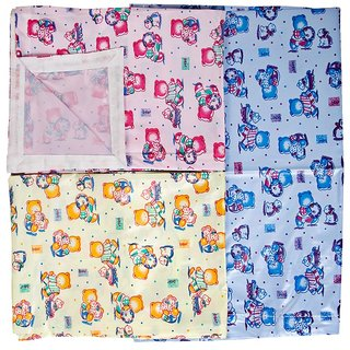 Love Baby 613D Plastic Bed Sheet Combo (MultiColour)
