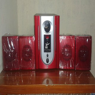 PARAS HOME THEATER SYSTEM 4.1 ONLY @ 1999