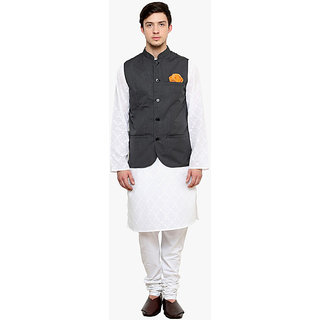 Buy Kurta Pajama With Jawahar Cut Jacket Online Get 13 Off