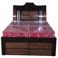 The Om Furniture King Size Bed at shopclues