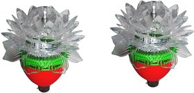 Vrct Crystal  Multi Color Lotus