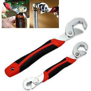 Snap N Grip Red Steel Multipurpose Wrench