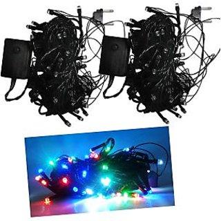 Multicolour String  LED Light set of Two
