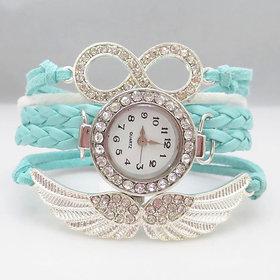 Addic Fashion Angels Wings Lucky Charm Bracelet Watch for Women! (Wristwatch)