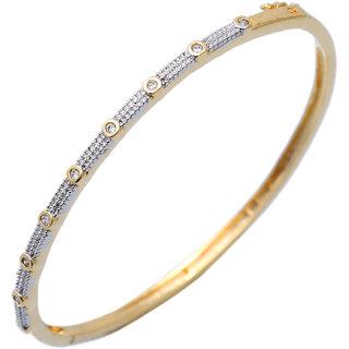Elegant Rhodium Austrian Diamond Bracelet  for Women JMP407