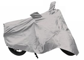 Bike Body Cover For Bajaja Pulsar 150 Motorcycle Body Cover Silver Color.