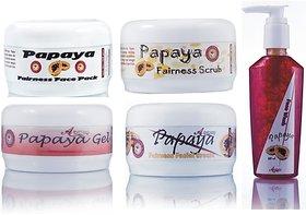 Herbal Skin Brightening Papaya Fairness Face Pack