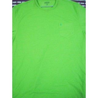 Izod Green Round Neck Tshirt
