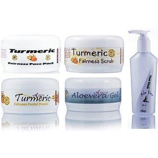 Ayurvedic Herbal Turmeric Glow Fairness Face Pack
