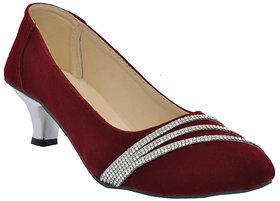 Altek Womens Maroon Heels