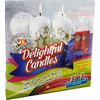 Awals 3 in 1 Delightful Candle Making Kit