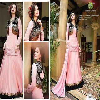 Yana lifestyle Shayona pink suit